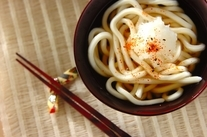 鶏鍋スープのうどん