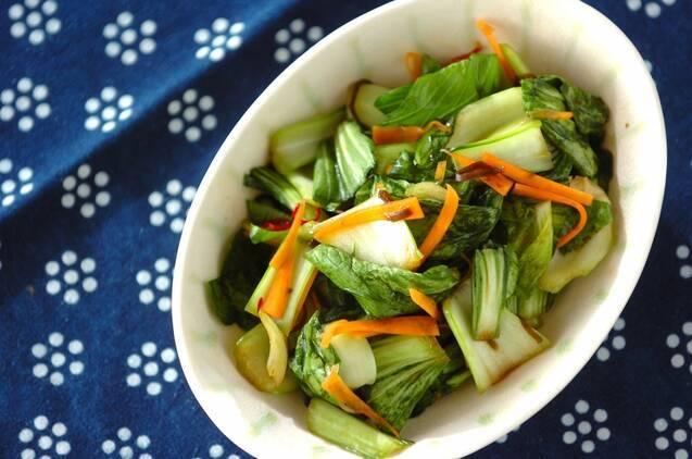 チンゲン菜の浅漬け