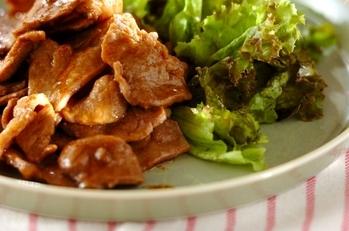 ラム肉のオイスターカレー炒め