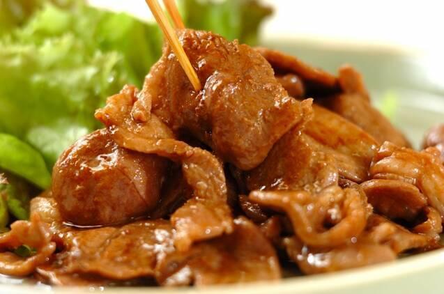 ラム肉のオイスターカレー炒めの作り方の手順3