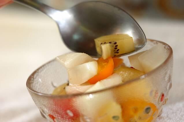 カルダモン風味のスイーツピクルスの作り方の手順4