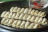 ホットプレート焼き餃子の作り方9