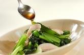 鶏と小松菜の炒め物の作り方3