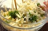 チリメンジャコとジャガイモの和風ガレットの作り方2