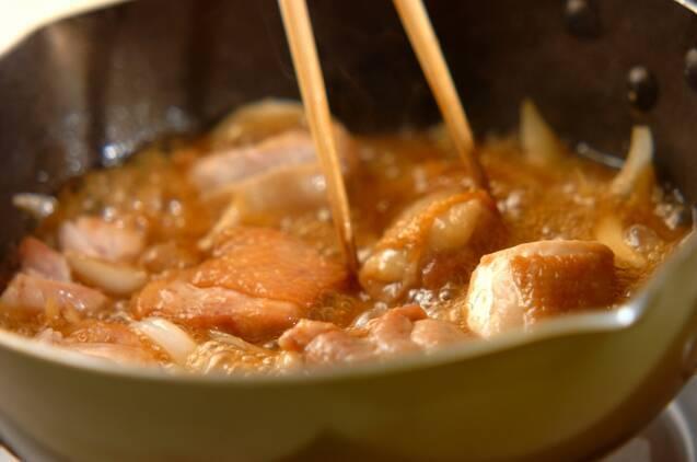 鶏肉のみぞれ煮の作り方の手順7