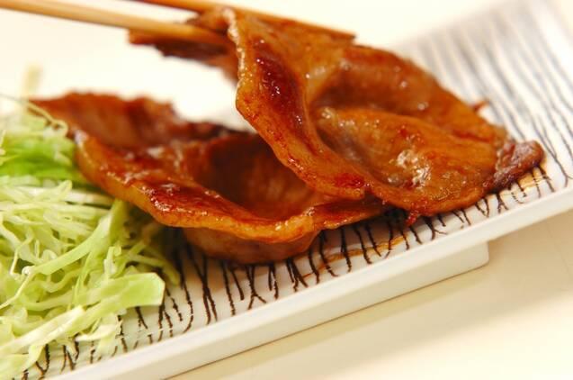 豚肉のやわらかショウガ焼きの作り方の手順5
