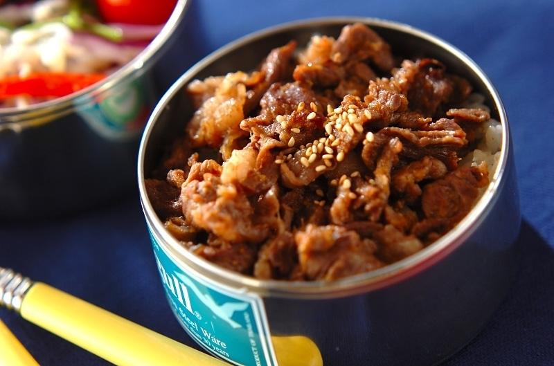 にんにく生姜の焼肉丼