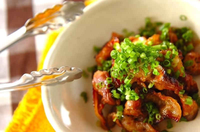 バラ肉の生姜焼き