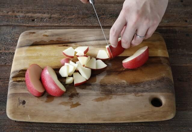 くるみ香るりんごと春菊のサラダの作り方の手順5
