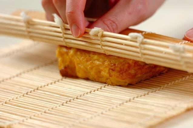 メープル卵焼きの作り方の手順4