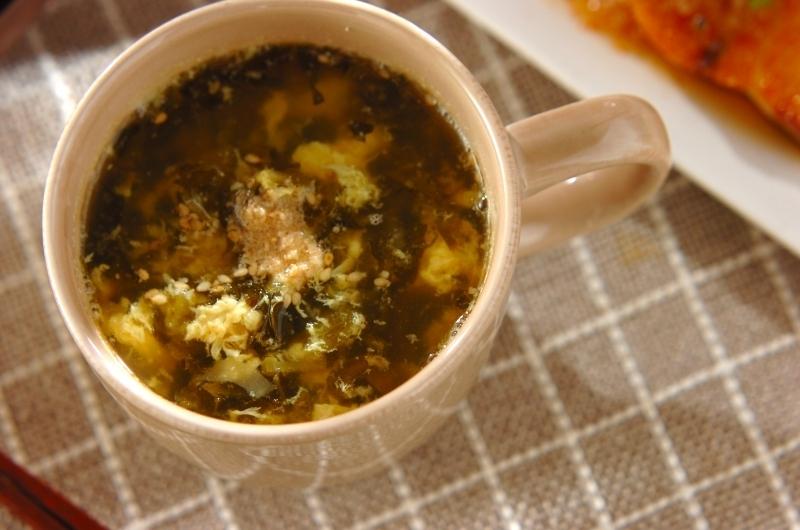 7.高菜漬けスープ