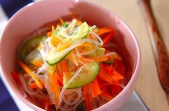 彩り春雨サラダ
