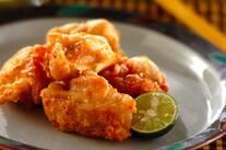 塩漬け鶏の唐揚げ