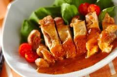 鶏肉のマヨソースソテー