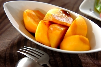 柿のバルサミコソース