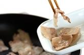 ニンニク・ショウガしょうゆを使った肉野菜炒めの作り方1