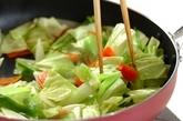 ニンニク・ショウガしょうゆを使った肉野菜炒めの作り方3