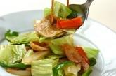 ニンニク・ショウガしょうゆを使った肉野菜炒めの作り方4