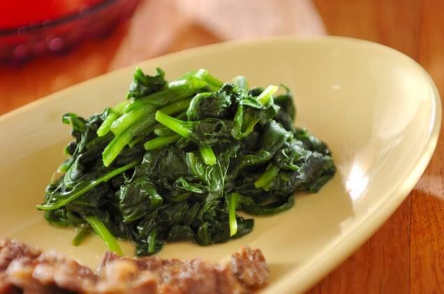 ほうれん草を使った副菜16選!パパッと作れる簡単レシピ集の画像