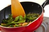 シーフードトマトリゾットの作り方2