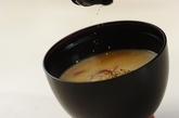 サツマイモのミルクみそ汁の作り方3
