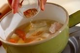 鶏団子のカレーポトフの作り方1