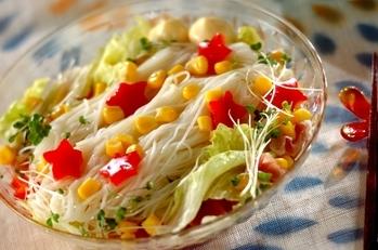 サラダ素麺