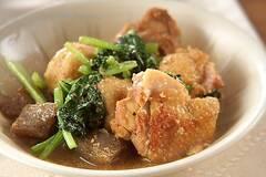 鶏肉と里芋のゴマ風味煮