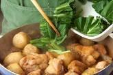 鶏肉と里芋のゴマ風味煮の作り方7