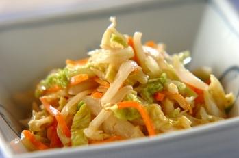 白菜ゴマポン酢和え