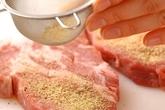 豚肉のソテーの作り方1