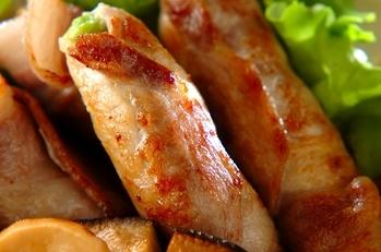 アボカドの豚肉巻き