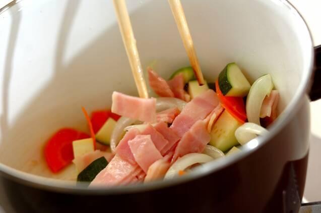 具だくさんの冬瓜スープ煮の作り方の手順7