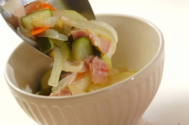 具だくさんの冬瓜スープ煮の作り方の手順9