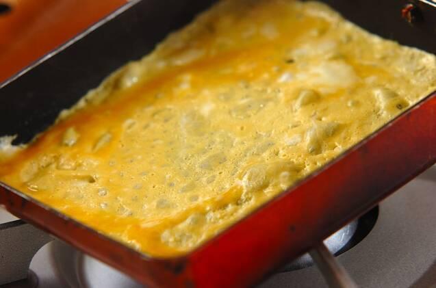 土用の丑の日に!う巻き卵の作り方の手順4