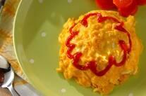 とろとろ卵のオムライス