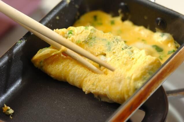 厚焼き卵の作り方の手順3