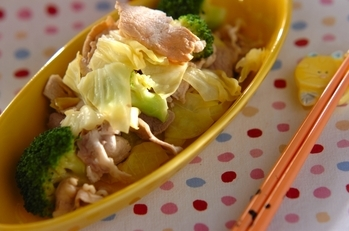 豚しゃぶ温野菜サラダ