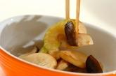 セロリとエリンギのサッと炒めの作り方2