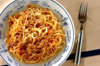 失敗しないフレッシュトマトとツナのスパゲティー