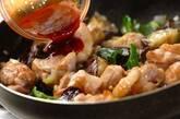 鶏肉とナスのコチュジャン炒めの作り方6