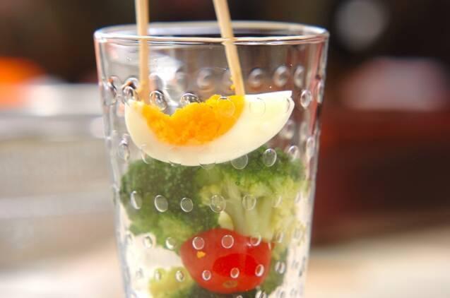 ブロッコリーのツリーサラダの作り方の手順3