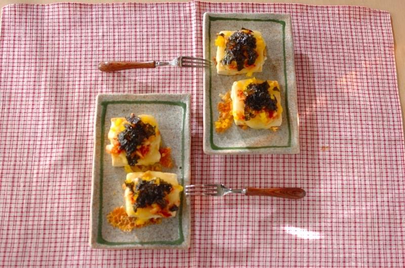 12.豆腐のキムたくピザ