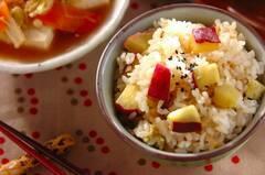 ほっくり甘い!サツマイモの炊き込みご飯