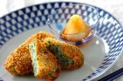 長芋の青のり風味コロッケ