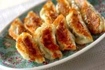 焼きキャベツ餃子