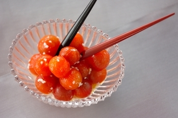 プチトマトの甘酒ピクルス