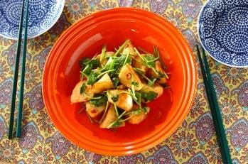 揚げ長芋のエスニック風味
