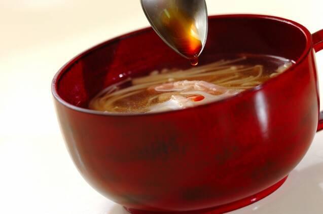 エノキと大根のスープの作り方の手順3
