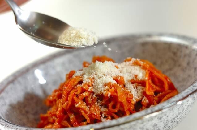 切干し大根のトマト煮の作り方の手順4